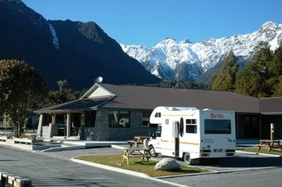 Fox Glacier TOP 10 Holiday Park: Very Modern facilities