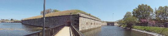 Hampton, Virginie : The fort