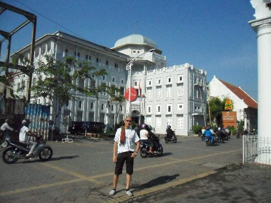 Semarang, Indonésie : area around the Blenduk Church