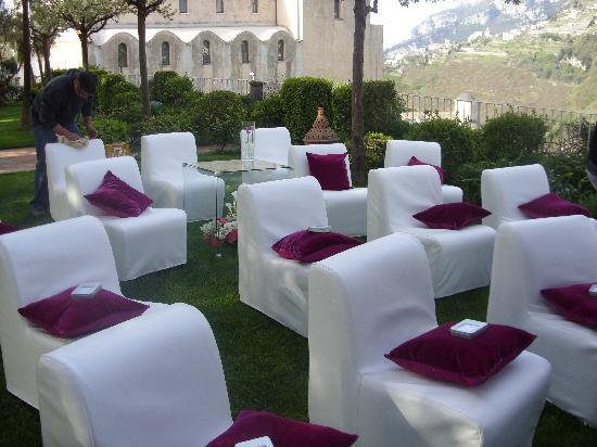 Belmond Hotel Caruso: one of the event