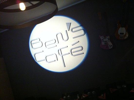 Ben's Cafe: Logo