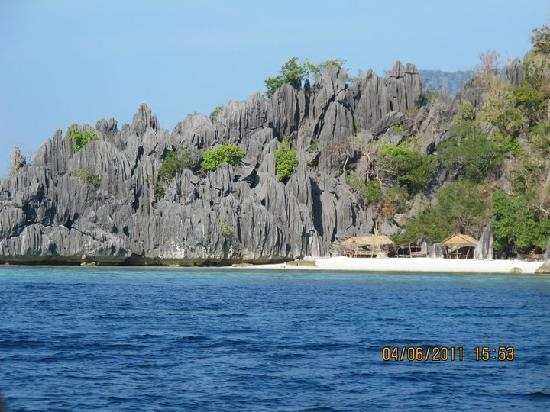 Coron, Filippinerna: Banol Beach