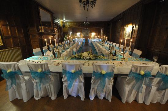 Comlongon Castle Hotel : banquet Hall