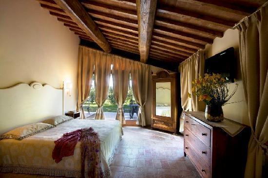 Borgo San Benedetto: Casa la Tinaia: camera Colombano