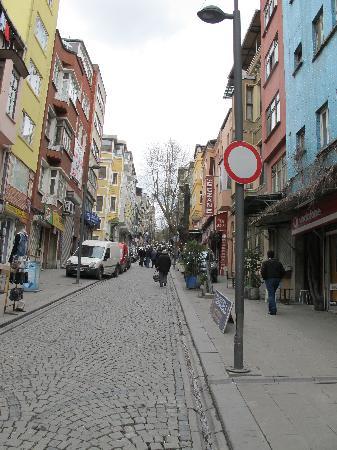 May Hotel Istanbul: rue de l hotel