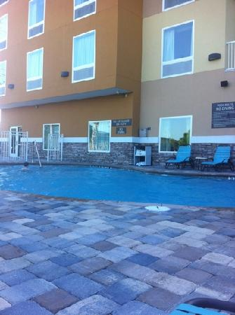 Comfort Suites at Fairgrounds - Casino : pool was very nice!!