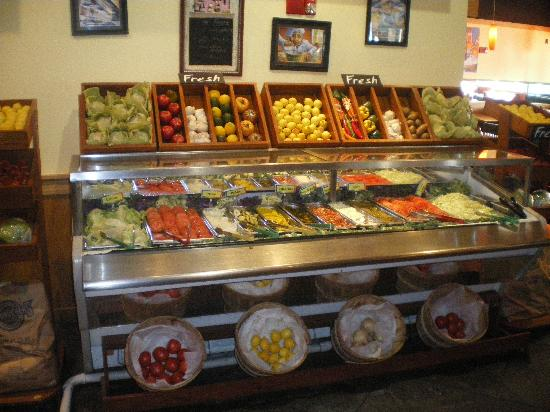 Attrayant Fuddruckers: Burger Toppings Bar