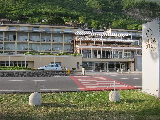 โรงแรมคอคคารอยัลไทยสปา: hotel frontside