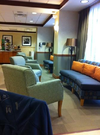 Hampton Inn Elmira/Horseheads: lobby