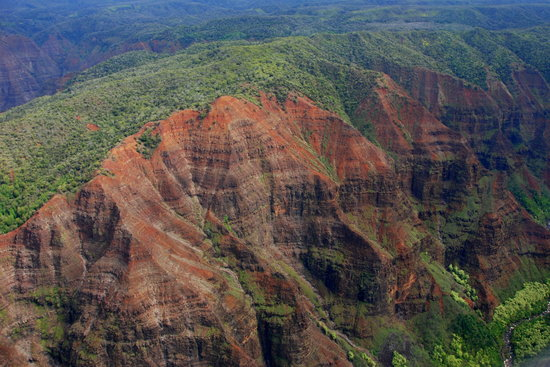 Wings Over Kauai Air Tour: Waimea Canyon