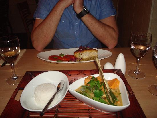 Green Olive Restaurant : One of the delicious courses