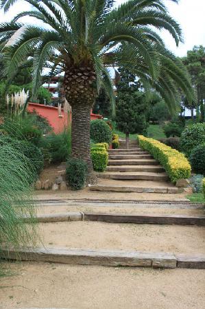 Parkanlage Albamar