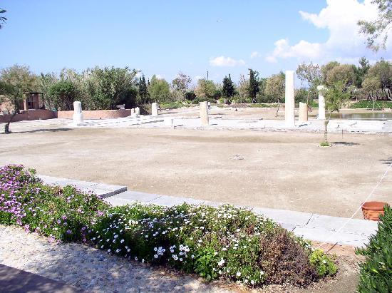 Cidade de Naxos, Grécia: Antike Ausgrabung nahe Naxos City