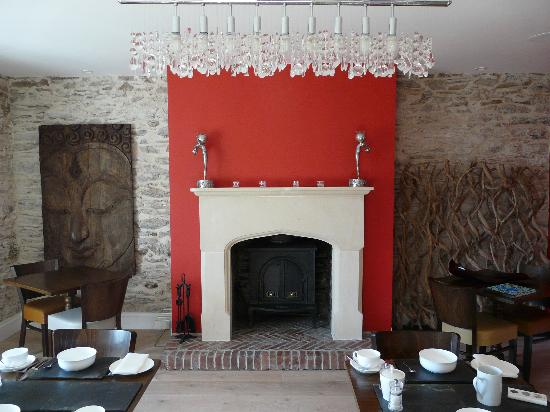 Strete Barton House: Dining Room