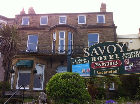 Savoy Hotel - Fleetwood: Front of B&B