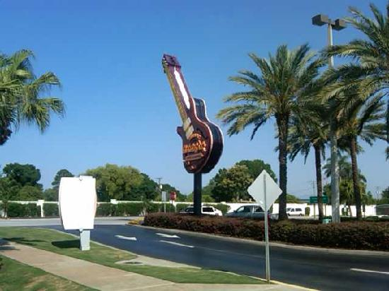 Seminole Hard Rock Hotel Tampa: The Hard Rock Guitar