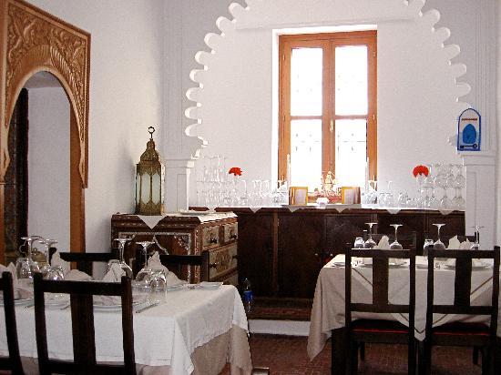 Blanco Riad Hotel & Restaurant: Breakfast atmosphere