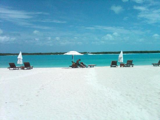 Blue Haven Resort: Our own beach