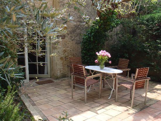 Charming Chateau: Terrasse privée d'un appartement