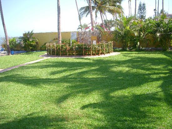 Las Cabanas del Capitan: Hotel grounds