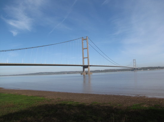 ‪The Humber Bridge‬