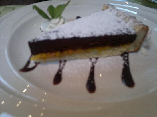 Ciao Italia: Homemade chocolate & orange tart