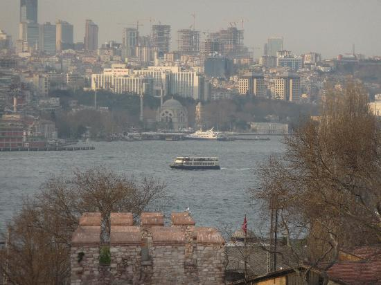 Sirkeci Mansion: view from the terrace