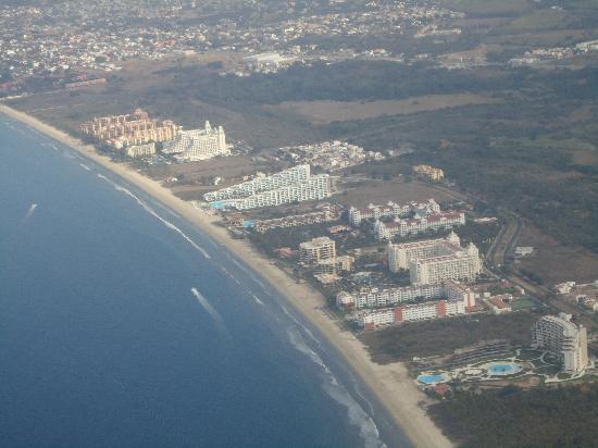 Hotel Riu Vallarta : Can you see the Riu?