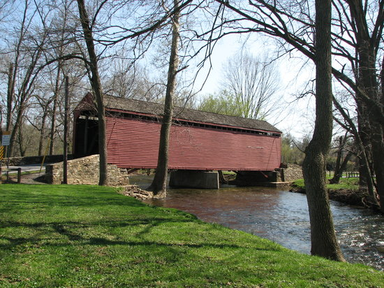 ‪Loy's Station Covered Bridge‬