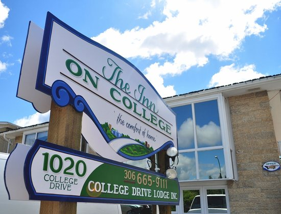 Inn on College : centrally located by the Saskatchewan River