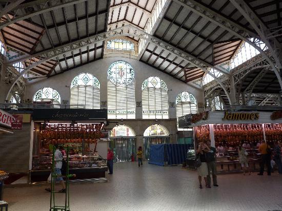 Central Market (Mercado Central) : L'interno del Mercato