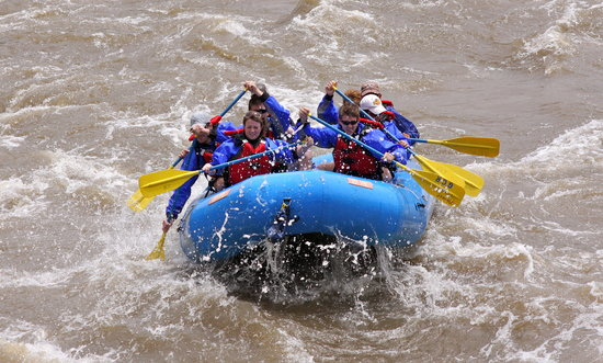 Glenwood Canyon Rafting, Inc.: South Canyon Rapids in June!