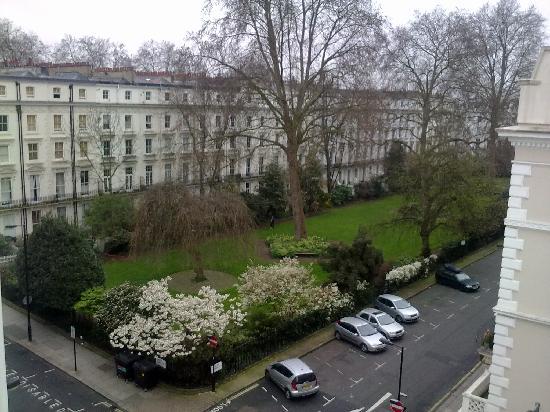 The Royale Chulan Hyde Park Hotel London: vista dalla camera