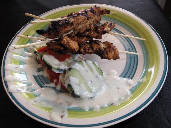 Gossip's Kitchen: Spicy grilled chicken tenders (MMMMM!)