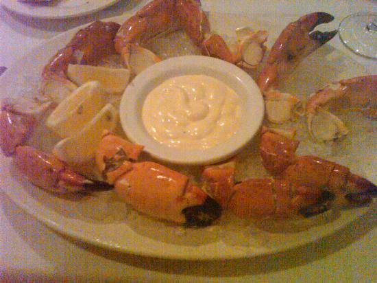 Gulfstream Bistro and Seafood Market: Stone crabs at Gulfstream