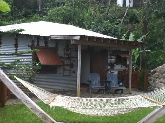 Pagua Bay House Oceanfront Cabanas : Cabana #4