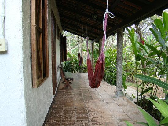 Hotel Hacienda El Jaral: Back patio