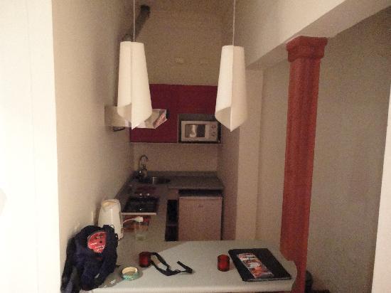 Casa Olga B&B: Handy kitchen