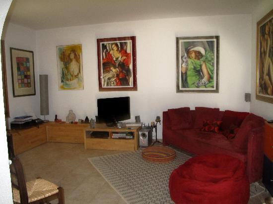 B&B La Villetta : le salon