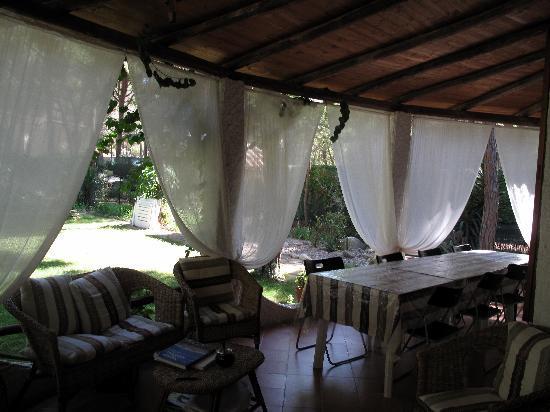 B&B La Villetta : la terrasse
