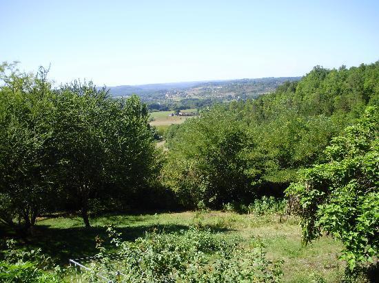 La Grande Marque: uitzicht vanuit de tuin