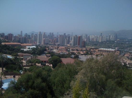 Hotel RH Royal - Adults Only: view of Benidorm from the mundo mar