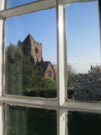 Church Farm Guest House: view from bedroom 1