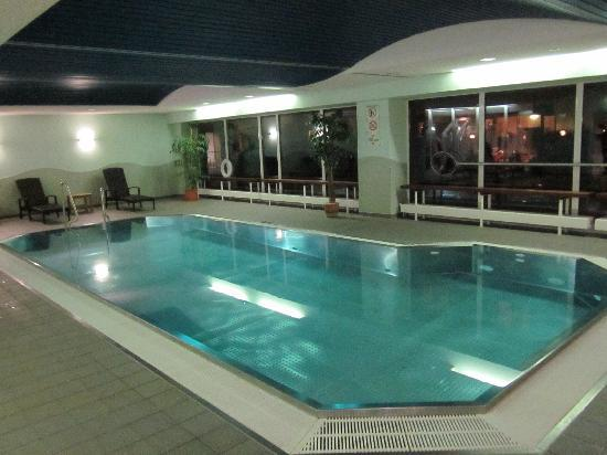 Courtyard by Marriott Dresden: The Pool - Very relaxing although small