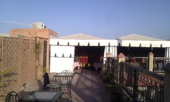 Hotel Cecil Marrakech: The roof terrace