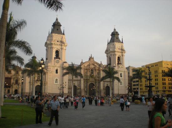 Lima, Perú: la plaza central