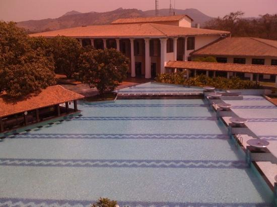 Radisson Blu Resort & Spa Alibaug : view of the hotel from balcony