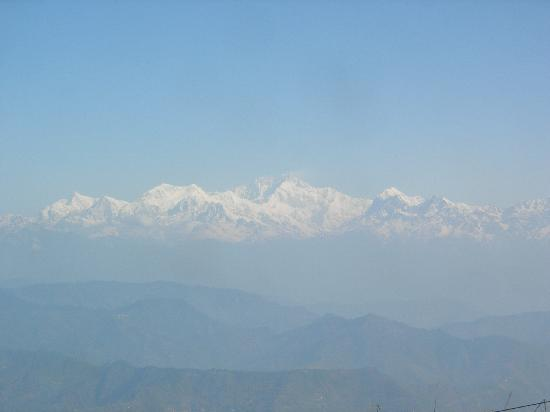 The Retreat: Kanchenjunga view from Hotel balcony