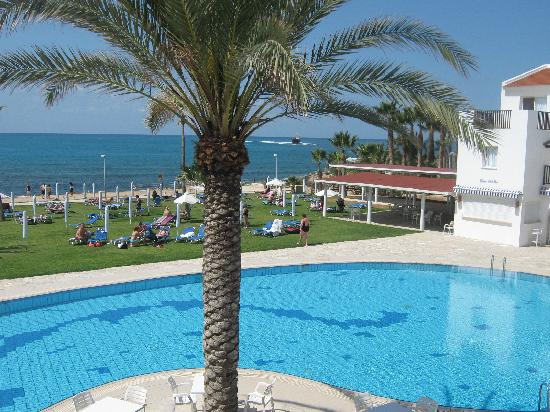 Akti Beach Village Resort: view from bar