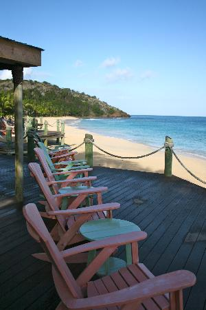 Galley Bay Resort: Our favorite spot to sit